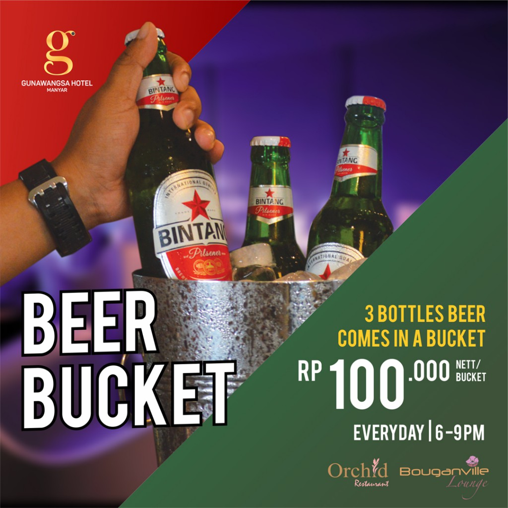 beer bucket promo copy