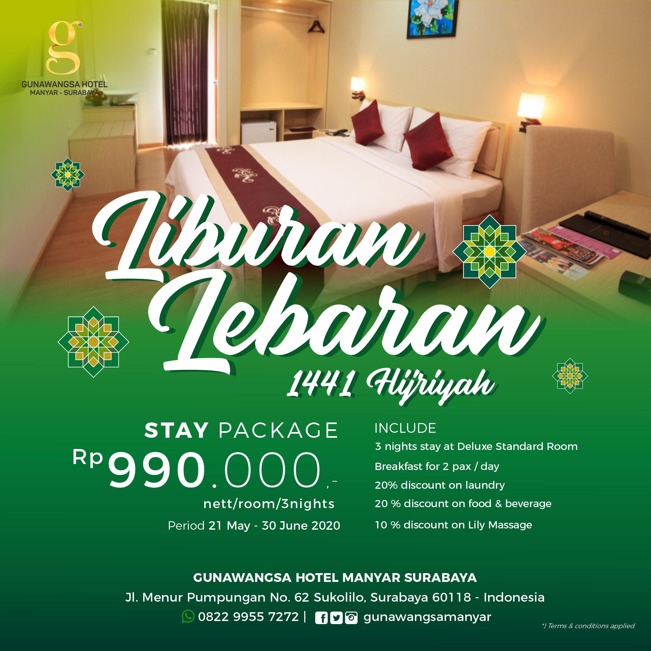 Ramadhan & Lebaran Package 2020