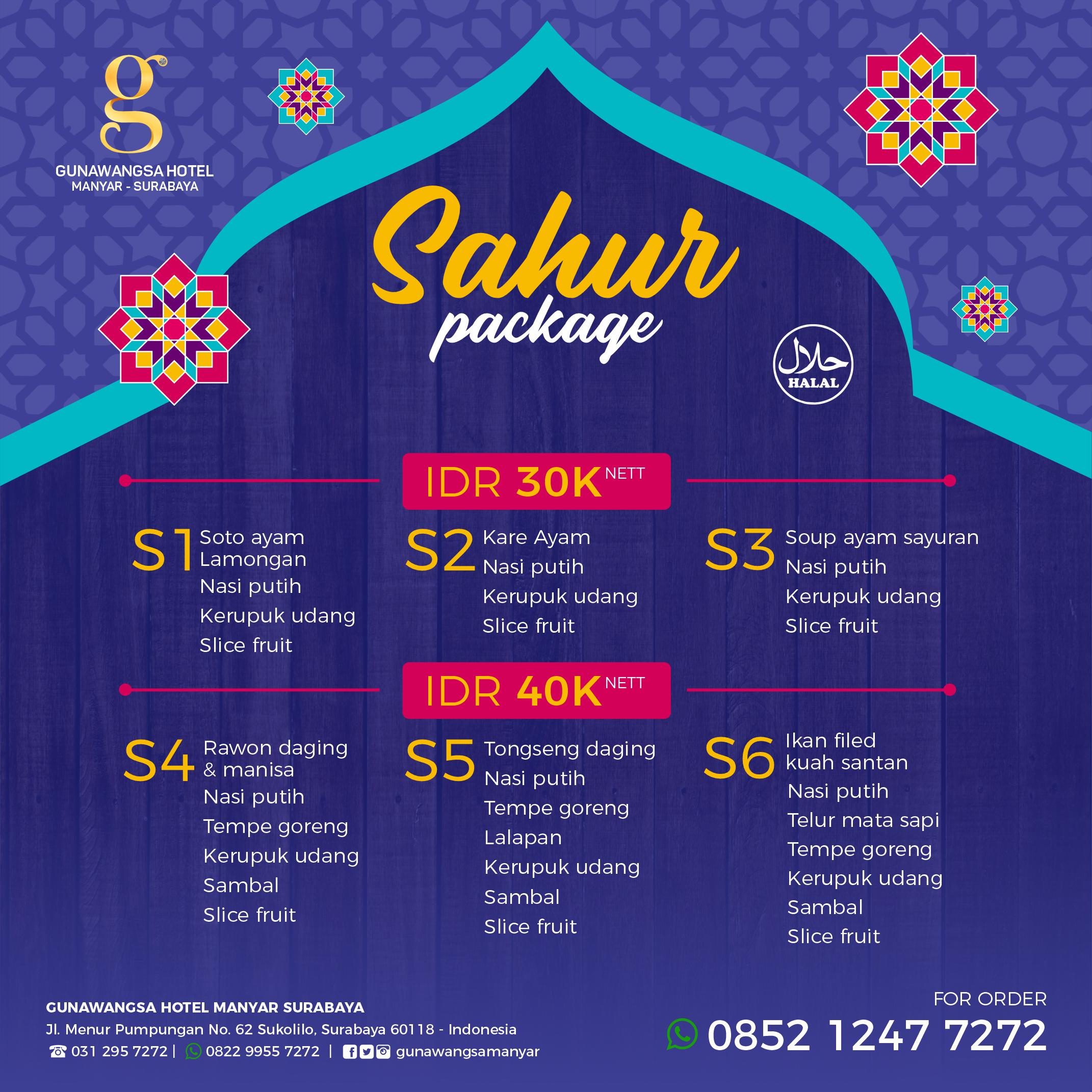 Special Food Package Ramadhan 2020