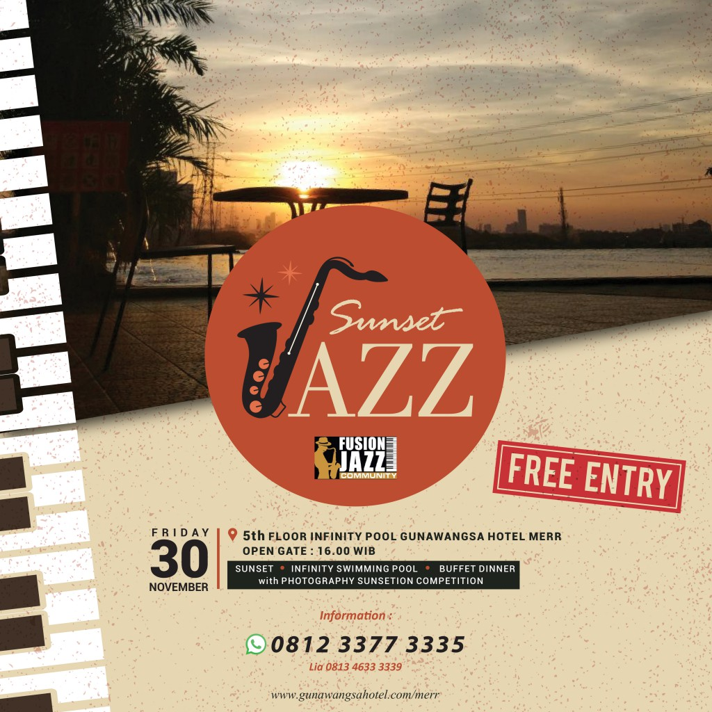 Socmed Sunset Jazz FREE ENTRY-01