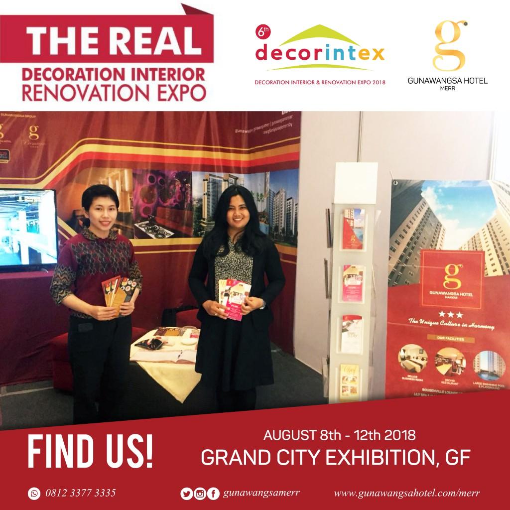 Agustus - Decorintex 2018 Pameran Grand City