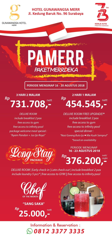 PROMO AGUSTUS 2018 | Hotel Gunawangsa Surabaya