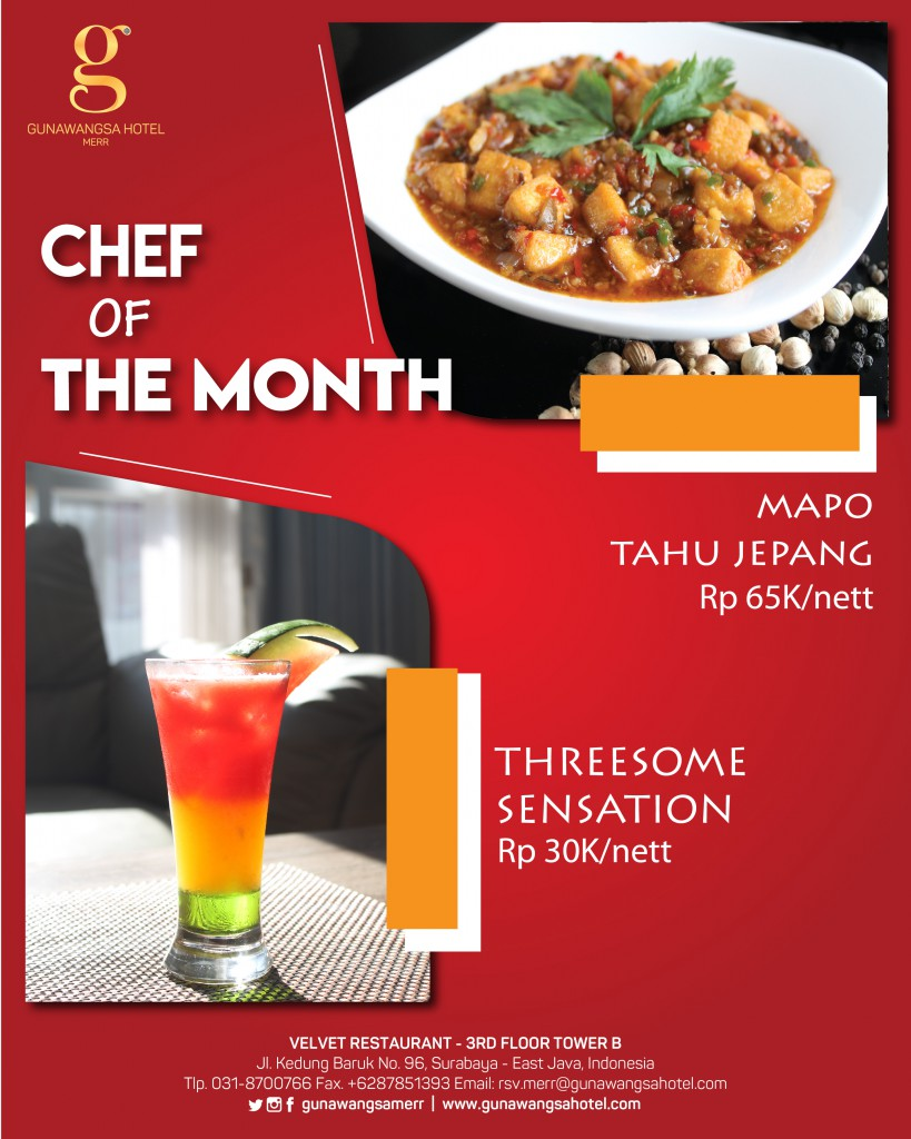 A3 Chef of The month