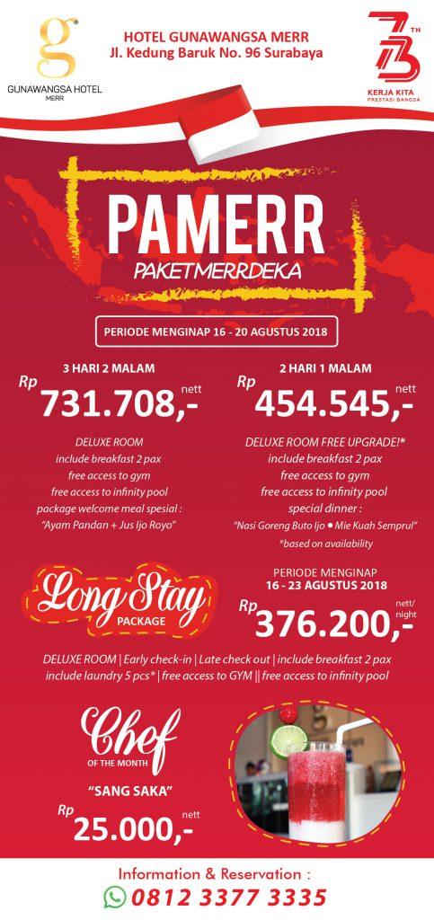 Agustus - Promo Paket MERRdeka